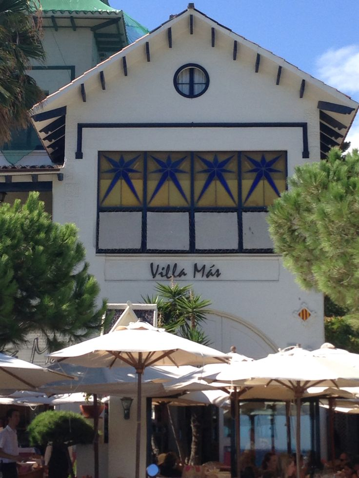 Restaurante Villa Más in S'Agaro.