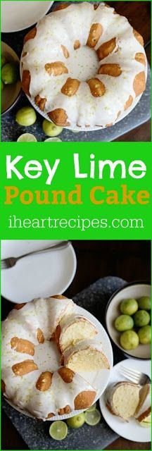 KEY LIME POUND CAKE - My Kitchen Recipes