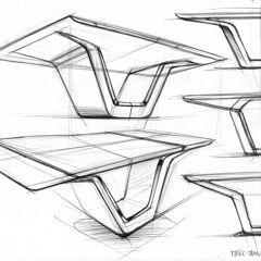 Industrial Design Sketches Furniture 2014