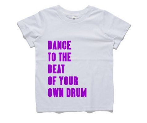 This cute kids T-shirt is a great addition to any child's wardrobe who loves just being themselves.