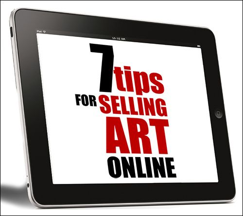 7-tips for Selling Art Online: How Buyers Find your Artwork - emptyeasel.com