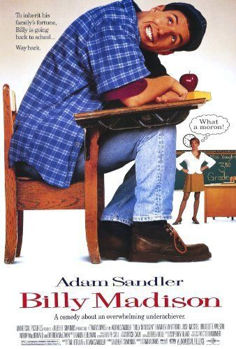 Billy Madison (1995) great Adam sandler classic
