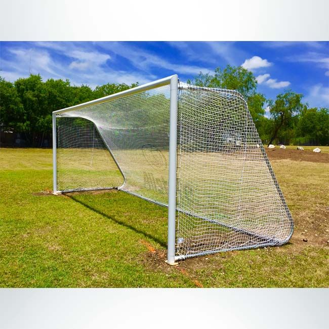 Movable Aluminum Soccer Goal Mal With Cable Net Attachment Keeper Goals Your Athletic Facility Equipment Experts In 2020 Soccer Goal Soccer Goals