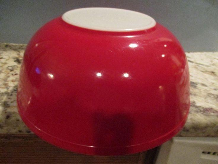Pyrex Rojo tazón 4 Qt grandes anidación Vintage #404 Rara | Cerámica y vidrio, Vidrio, Cristalería | eBay!