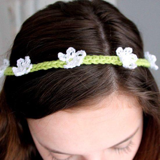 Flower Headband Tutorial: Best 25+ Crochet Flower Headbands Ideas On Pinterest