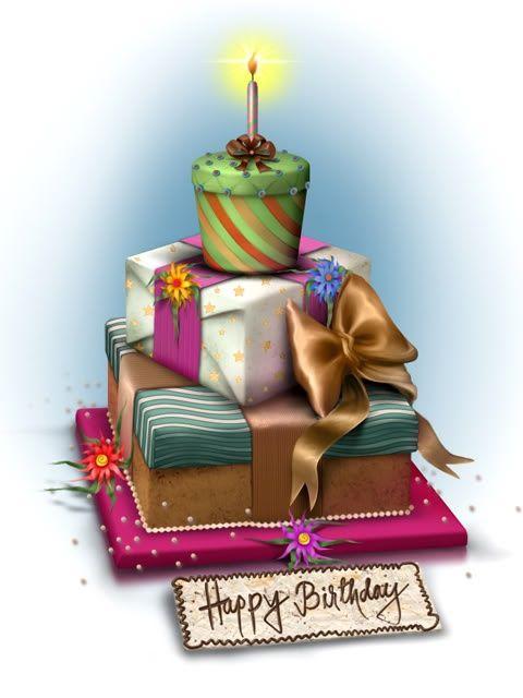 Cumpleaños / Regalos & pastel