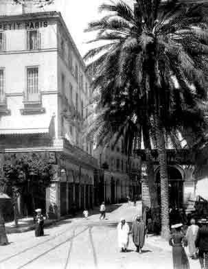 la rue Bab-El-Oued