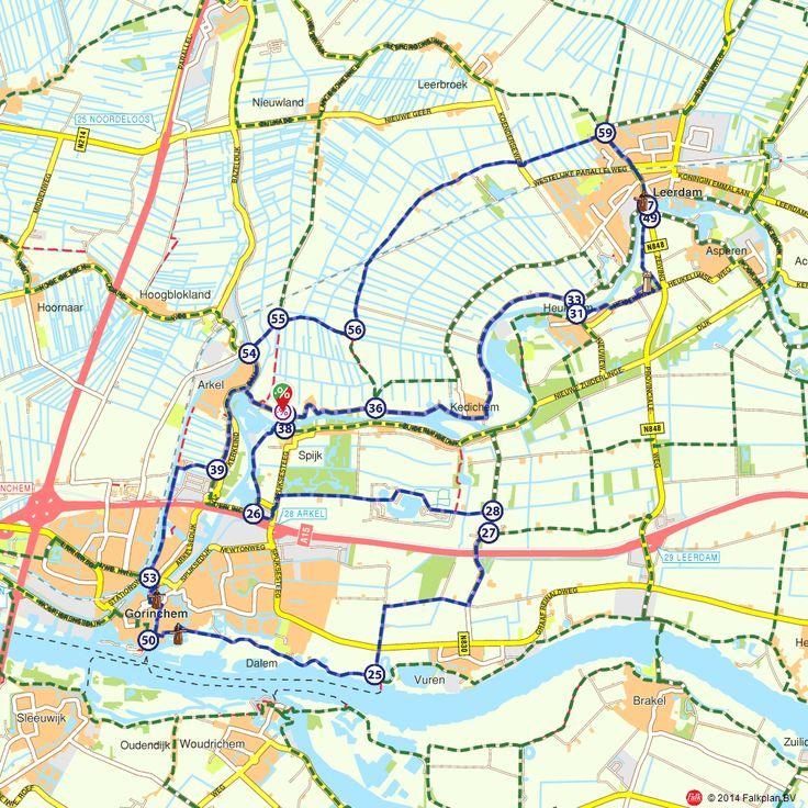 Fietsroute: Langs middeleeuwse steden - met een boottochtje erbij  (http://www.route.nl/fietsroutes/132418/Langs-middeleeuwse-steden---met-een-boottochtje-erbij/)