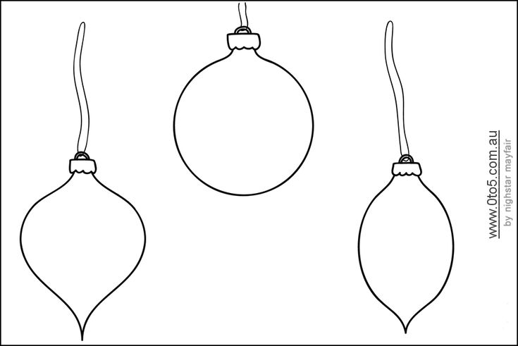 christmas baubles templates to colour - 44 best images about printables on pinterest
