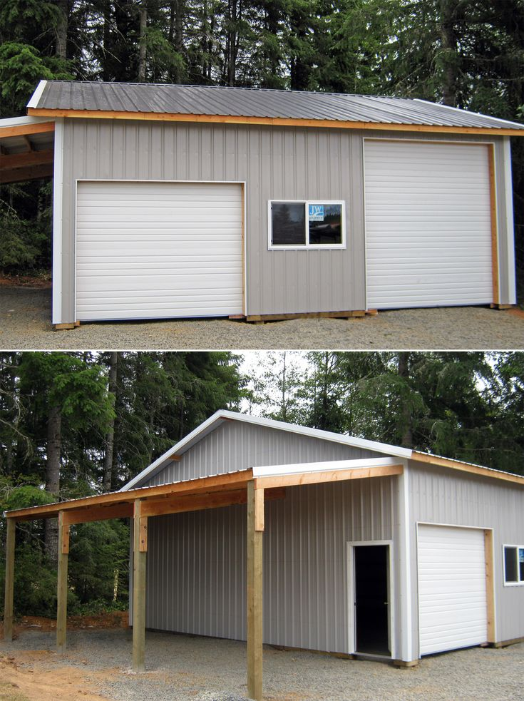 30' X 30' X 12' With 12' X 30' Roof Only Lean-too Www