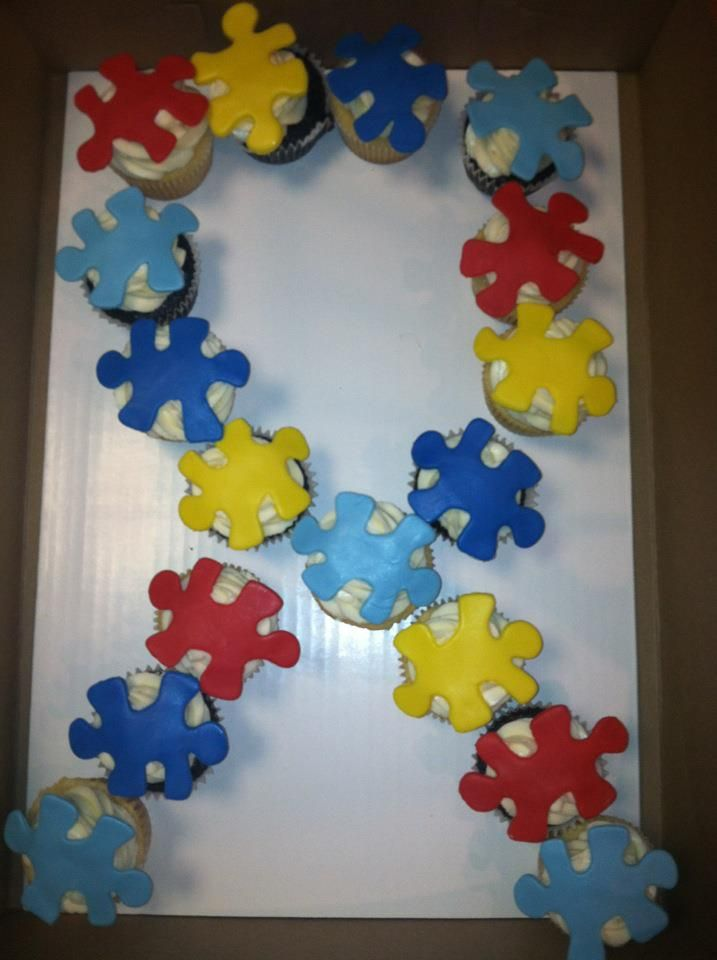 1000 Images About Autism Cupcake Cakes On Pinterest