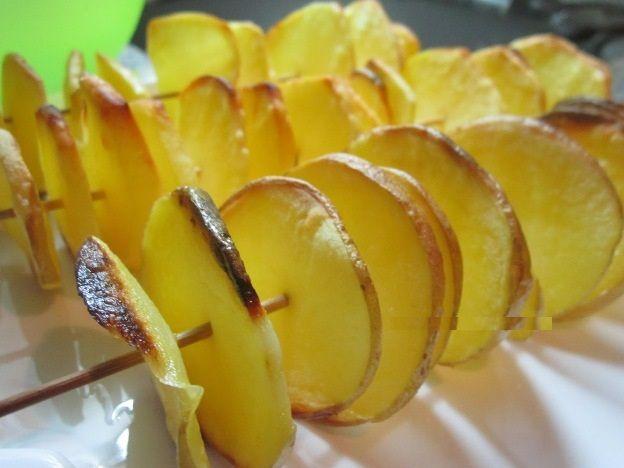 Kahvaltılar İçin Çöp Şişte Patates Kızartması Tarifi