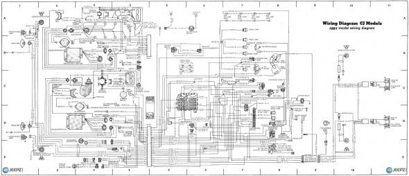 1983 jeep cj7 fuse box diagram  pinterest