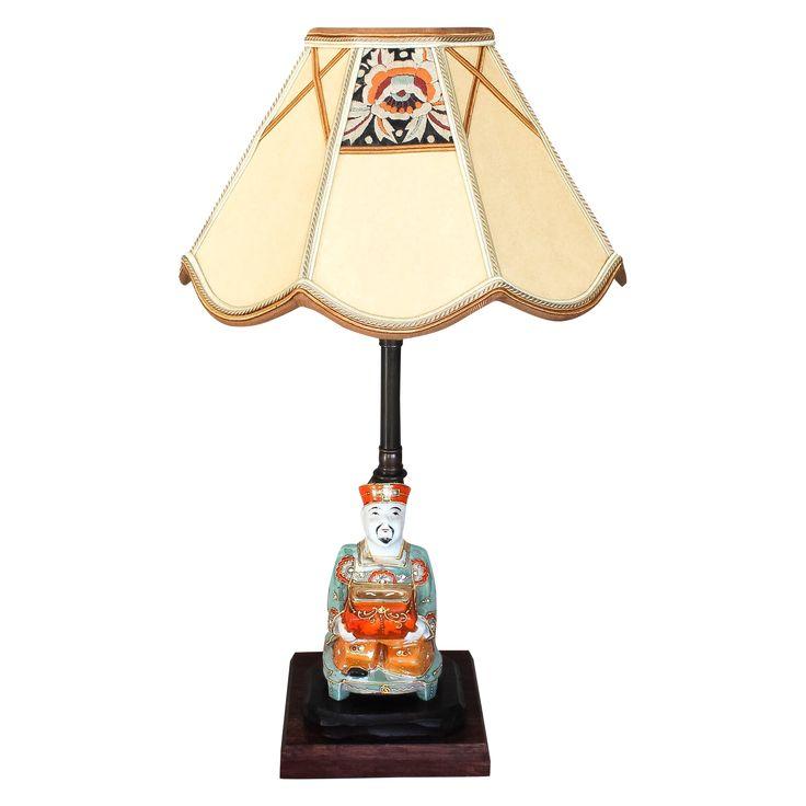 Antique Japanese Incense Burner Lamp on Chairish.com