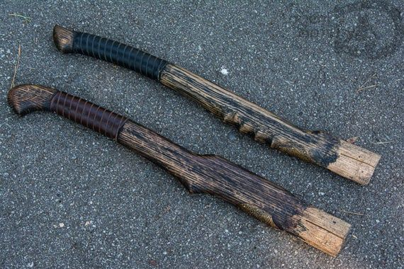 Set Of 2 Hatchet Handle Wood Replacement Handle For Axe Etsy Hatchet Handle Axe Handle Hatchet