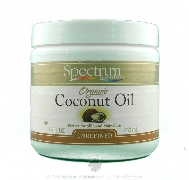 Spectrum Organic Coconut Oil for hair & skin
