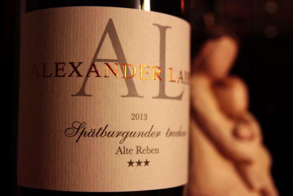 TOLLER WEINBLOG. 2013 Alexander Laible Spätburgunder *** Alte Reben