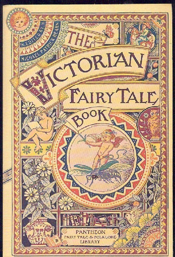 Old Fairytale Book Cover ~ Vintage fairy tale book cover the victorian
