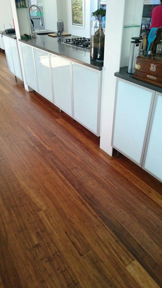 Carbonised coffee floor