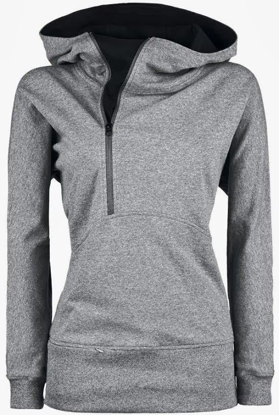 Comfy Open Face Side Zip North Face Hoodie