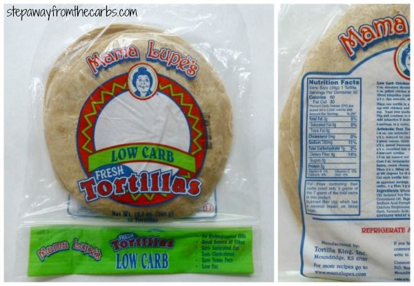 Low-carb-tortilla-mamalupe. This was the overall winner but she orders online