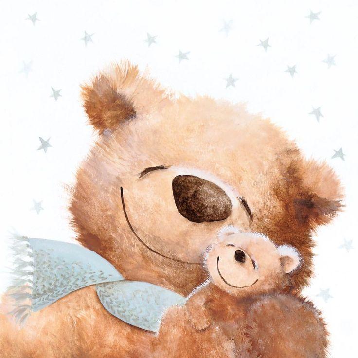 Милые медведи открытки