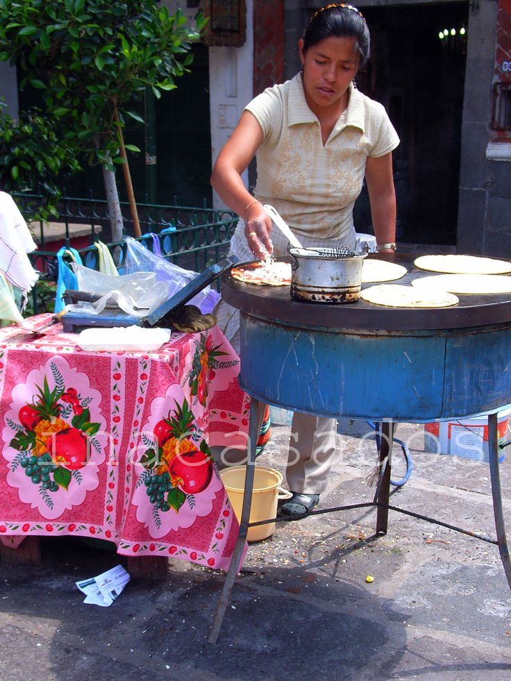 aquí, allá y en (casi) todas partes / here, there and (almost) everywhere.  molotes/ tortilla goodies. puebla, méxico
