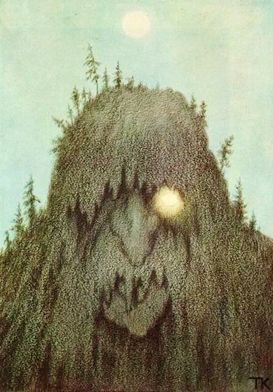 Mountain Troll by Theodor Kittelsen