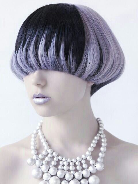 Mushroom hairstyle