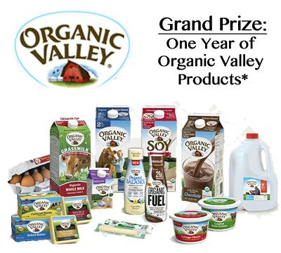 Win a Year of <br> Organic Valley Products