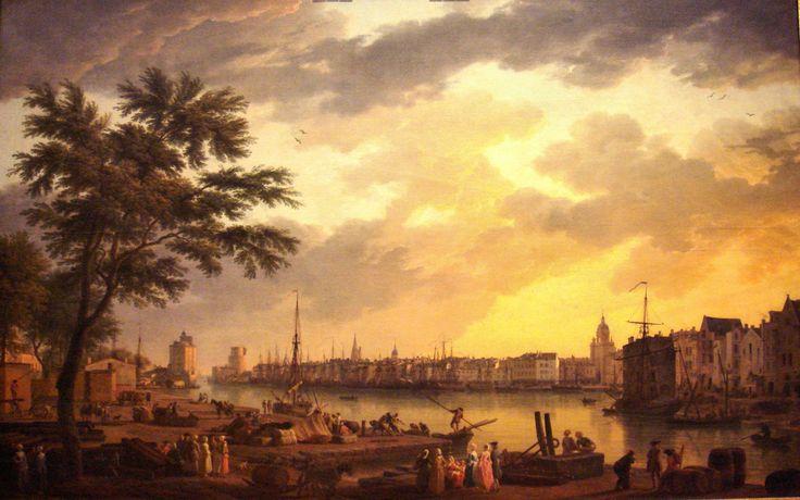 La Rochelle Harbor in 1762, Claude-Joseph Vernet, 1762