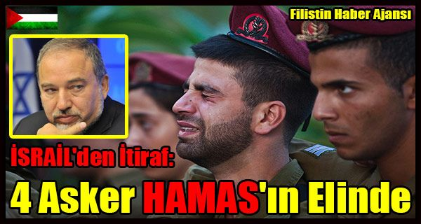 İşgal rejimi adına yapılan açıklamada bu dört kişiden ikisinin asker ikisinin de yahudi yerleşimci olduğu ifade edildi. İşgal yönetimi Uluslararası Kızılhaç Teşkilatı'ndan bu kişilerin ziyaret edilmesine imkân sağlanmasını istedi.   #4 israil askeri esir #avigdor liberman israil askerleri #esir israil askerleri #gazze hamas direniş #hamas israil esir #israil asker itiraf #israil askerleri #israil hamas itiraf #israil itiraf
