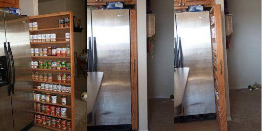 Cómo aprovechar el espacio en la cocina
