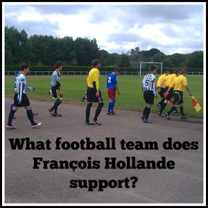 What football team does Francois Hollande support?(from Dr. Jonathan Ervine's Research Blog)