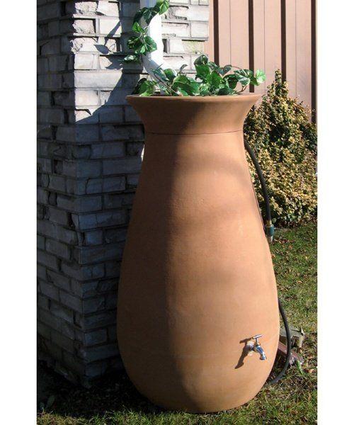 Algreen Cascata 65 Gallon Rain Barrel - Rain Barrels at Hayneedle