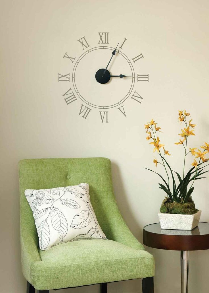 47 best Wall Clock Ideas images on Pinterest Clock ideas Diy