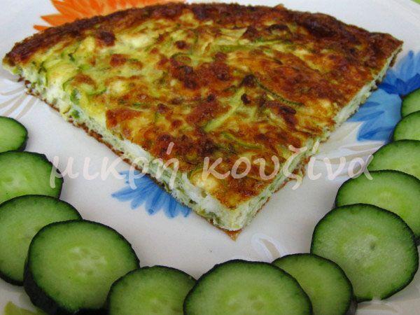 μικρή κουζίνα: Κολοκύθια με αυγά στο φούρνο