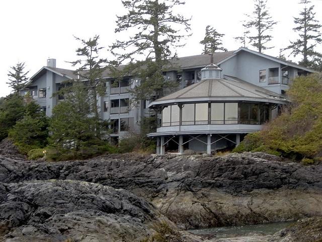Wickaninnish Inn on Chesterman Beach, Tofino, BC by David Stanley, via Flickr
