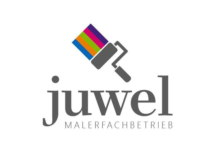 Exklusives Logo- und Corporate-Design für einen Maler und Lackierer –Juwel Malerfachbetrieb