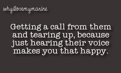 This happened so many times! Just can't help it when your in a long distance relationship for a year and a half