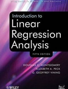Introduction to Linear Regression Analysis free download by Douglas C. Montgomery Elizabeth A. Peck G. Geoffrey Vining ISBN: 9780470542811 with BooksBob. Fast and free eBooks download.  The post Introduction to Linear Regression Analysis Free Download appeared first on Booksbob.com.