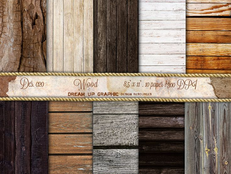 how to put scrapbook paper on wood