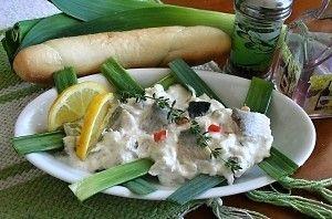 Rybí salát s majonézou