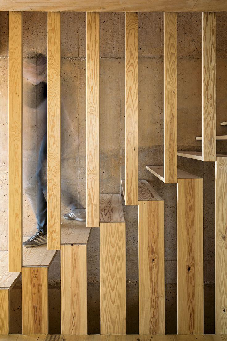 stair detail, Casa Ze, Paratelier