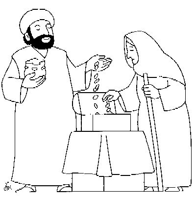 widows mite coloring pages | 38 best Widow's Mite images on Pinterest | Bible stories ...