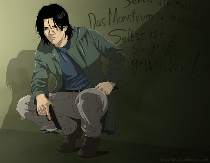 Where is that monster? by BrET13.deviantart.com on @deviantART Dr. Kenzo Tenma, Monster