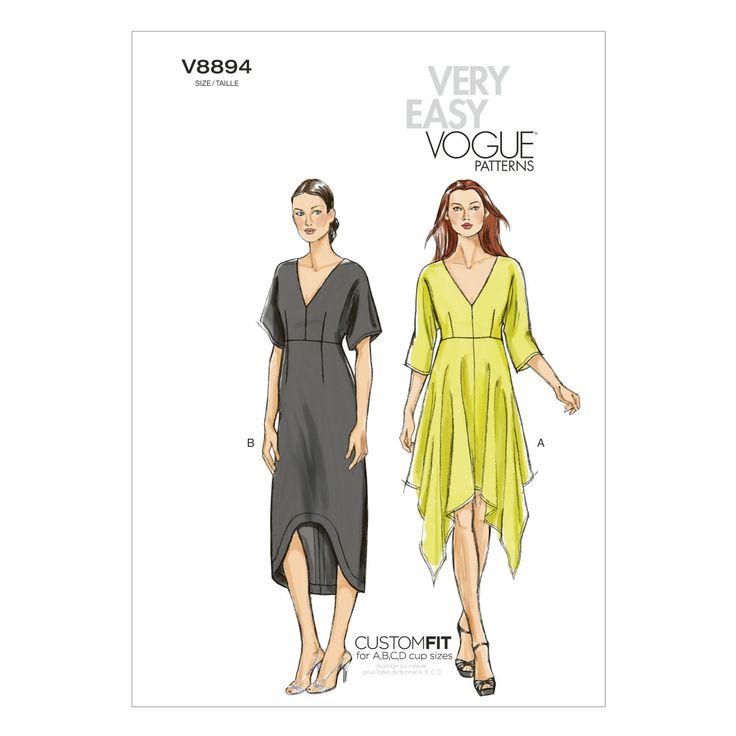 Vogue Patterns Misses Dress - V8894