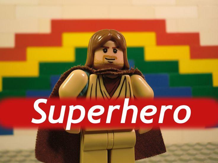 "Hillsong kids ""Jesus you're my superhero"" Lego style"