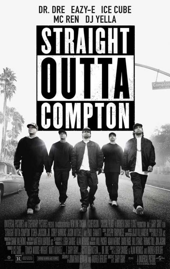 Straight Outta Compton Movie Poster (27 x 40)