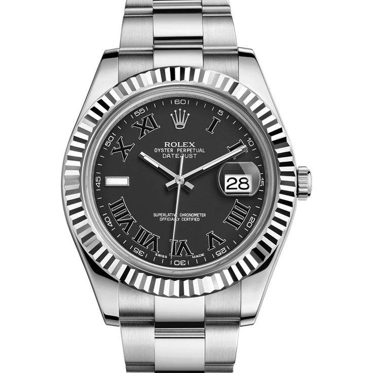 Rolex new style Datejust-II with 18K gold bezel.